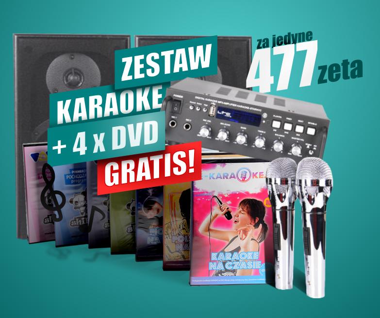 Karaoke STAR4 wraz ze wzmacniaczem - bardzo dobry wybór