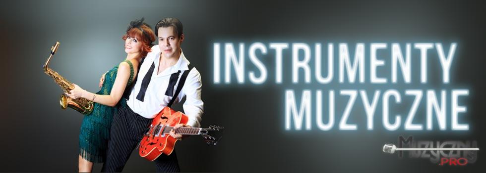 Szeroki wachlarz instrumentów muzycznych, gitar akustycznych, klasycznych oraz elektrycznych, gitary basowe, bębny, keyboardy, pianina cyfrowe i akcesoria